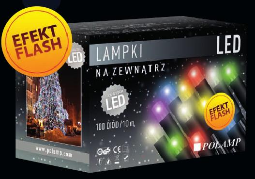 Lampki Choinkowe Led Z Efektem Flash Polamp Producent